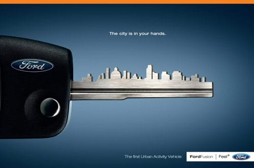 Car Ads 40 Clever Automobile Advertisements Designrfix Com
