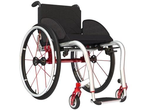 Titanium Wheelchair