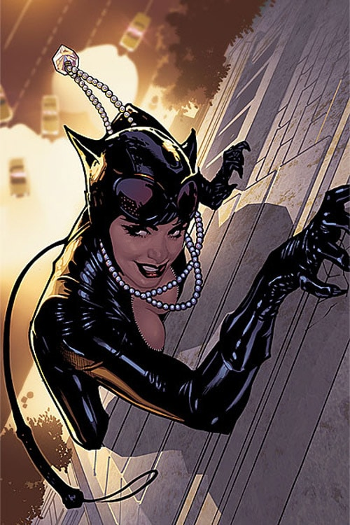 Catwoman comic book inspired artwork - Dessin catwoman ...