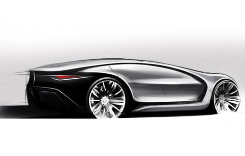 Elegant BMW Caizen Sketch By Samirs
