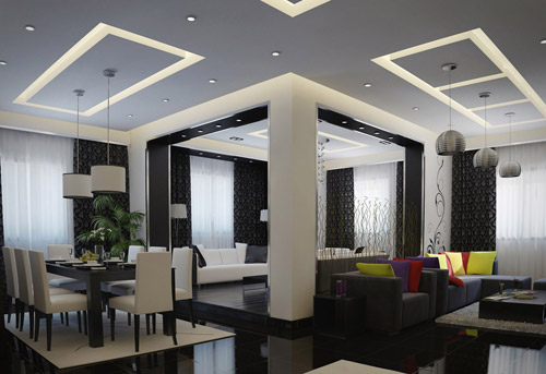 Modern interior designs beautifully rendered cg works of for Modern interior design ideas for living room 2015