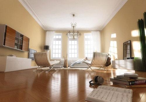 Philipp Widmer - Living Room Interior