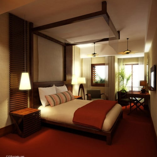 David Carvalho - Lisbon Hotel Room Project