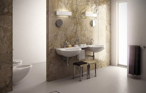 Francesco Legrenzi - This is my last work. It's a bathroom for an Italian catalogue. We used 3ds Max 2009 and V-Ray 1.5 SP3. For the water we use a Realflow for best realistic water. All done to 6000x4000 pixels.