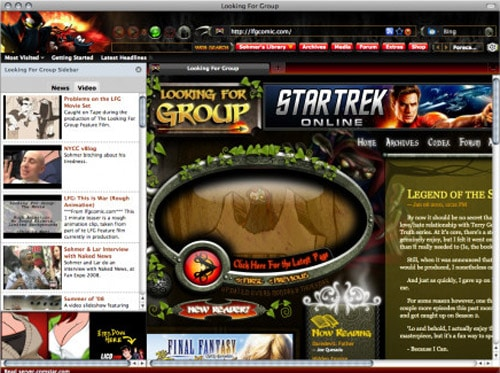 Looking For Group Official Extension and Theme