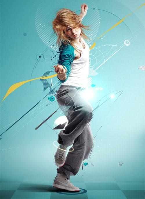 Break Dancer – Photoshop Tutorial
