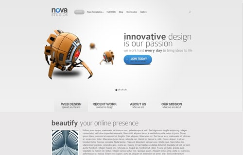 Nova WordPress Theme