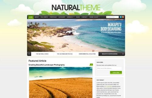 Natural Theme