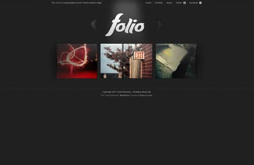Folio Elements theme