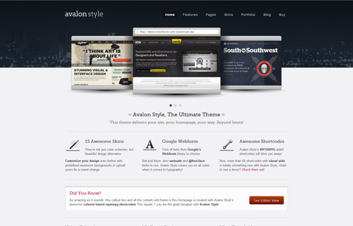 Avalon Style : The Ultimate Business and Portfolio