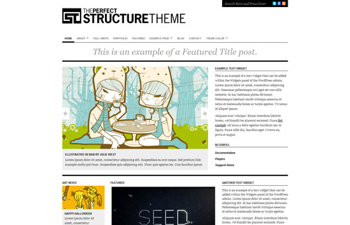 Structure Theme - The Perfect Minimal Theme!