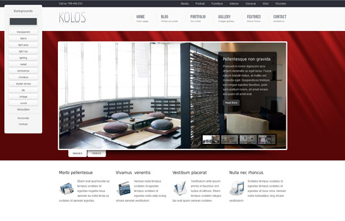 Kolos WordPress Theme
