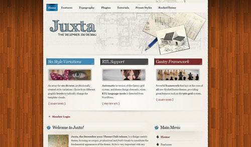 Juxta WordPress Theme