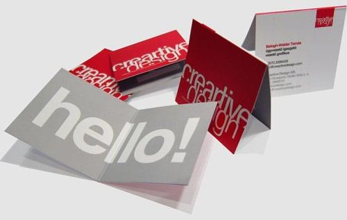 Creartive Design Business Cards - Business Card Design