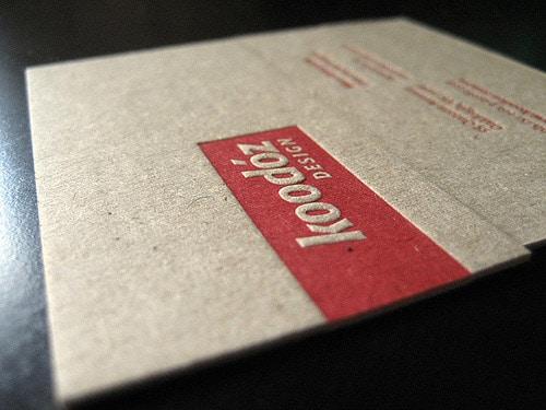 Koodoz Design   Business Cards
