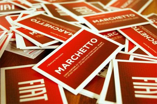 Marchetto Business Card Design