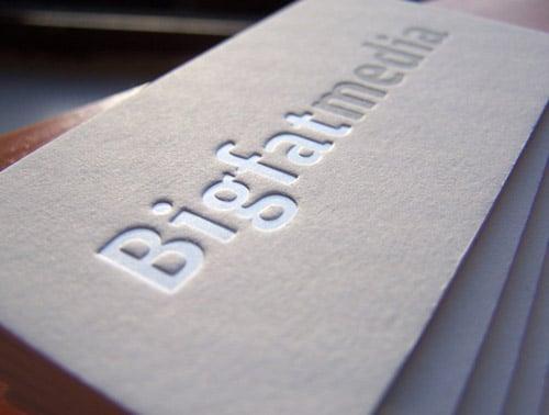 Big Fat Media Cards