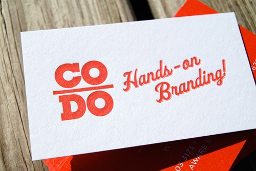 Business Card for: CODO Design