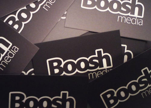 BooshMedia Business Card