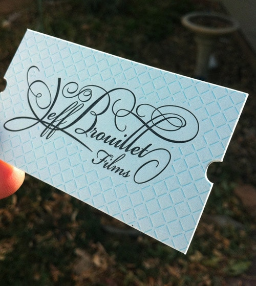 Business Card for: Jeff Brouillet