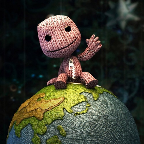 Little Big Planet - iPad Wallpaper