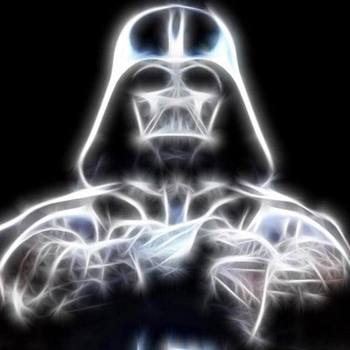 Darth Vader Illustration - iPad Wallpaper