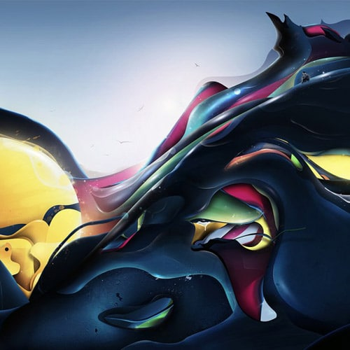 Abstract Art - iPad Wallpaper