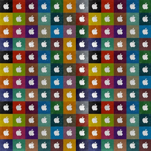 Apple Collage - iPad Wallpaper