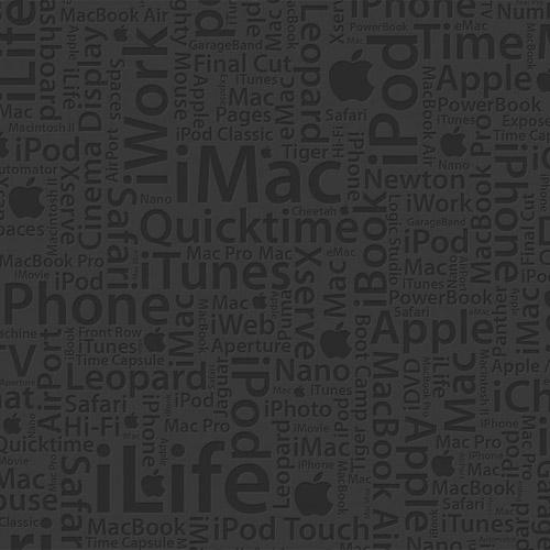 Apple Everything - iPad Wallpaper