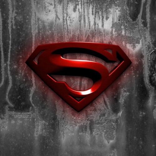 Superman Logo - iPad Wallpaper