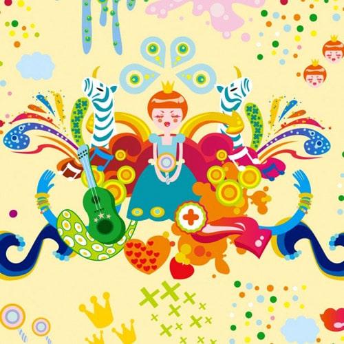 Abstract Imagination - iPad Wallpaper