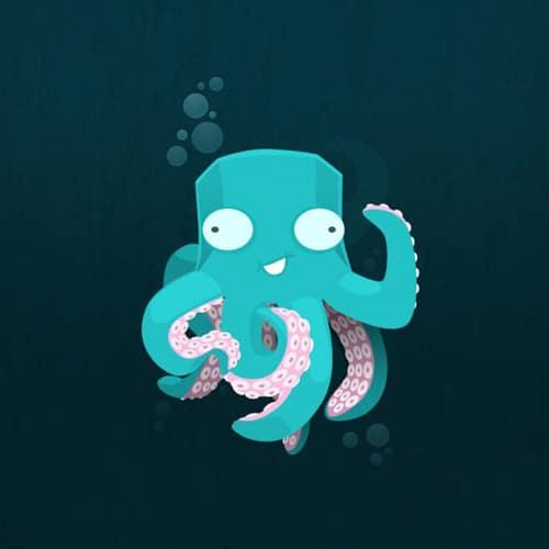 Kraken - iPad Wallpaper