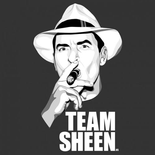 Team Sheen - iPad Wallpaper