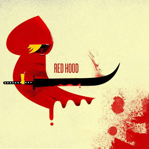 Red Hood - iPad Wallpaper