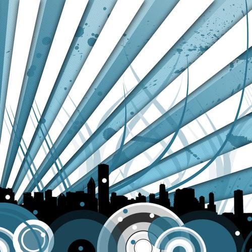 Citiscape Wallpaper for iPad