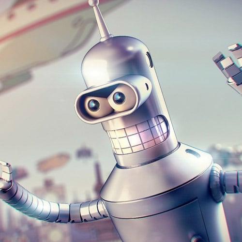 Bender - iPad Wallpaper