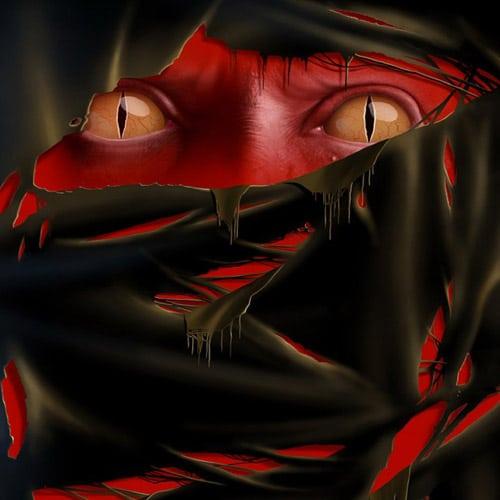 Evil Eyes - iPad Wallpaper