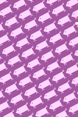 Swine Pattern iPhone Wallpaper