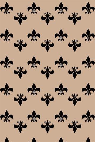 Fleurdelisé iPhone Wallpaper