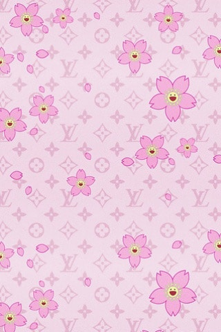 Louis Vuitton Flower | iPhone Wallpaper