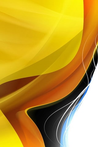 Adobe CS3 – Yellow | iPhone Wallpaper