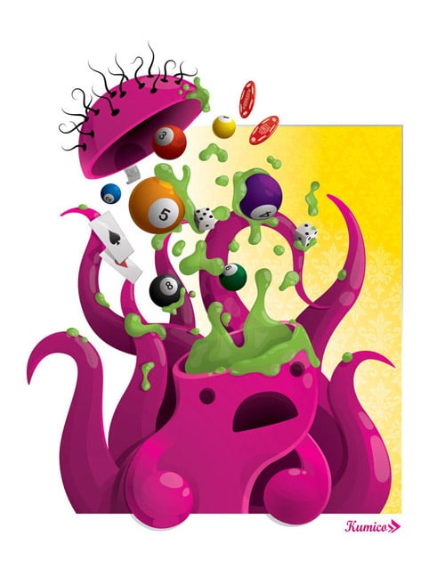 Game Room Splash Series by Kumico