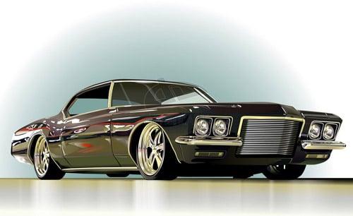 1972 Buick Riviera Boattail by CRWPitman