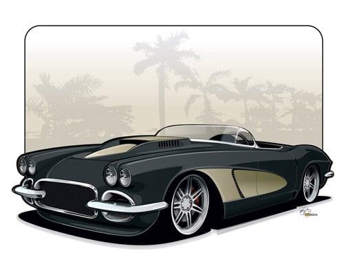 1962 Corvette Roadster by BRN-MNY