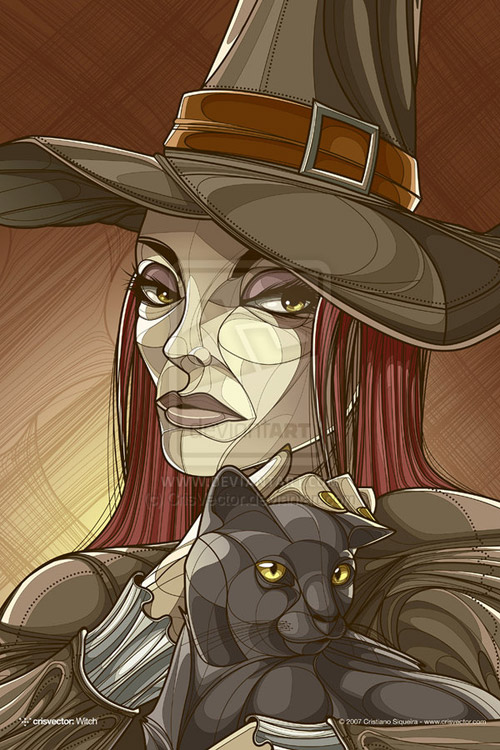 Witch by CrisVector