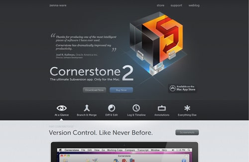 Home of Cornerstone Subversion Client for Mac OS X