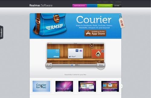 Courier for Mac - Upload to Facebook, Flickr, YouTube, Vimeo, MobileMe, Amazon S3, and beyond!