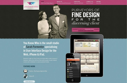 Web Design, iPhone User Interface Design