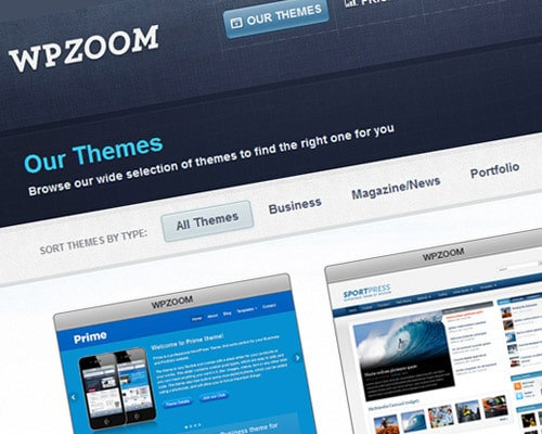 Premium WordPress Themes - WPZOOM