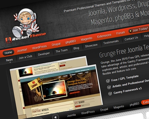 Joomla Templates, Drupal Themes, WordPress Themes  and phpBB3 Styles - RocketTheme